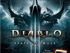 Diablo III Reaper of Souls PS3, Pelikonsolit ja pelaaminen, Viihde-elektroniikka, Lahti, Tori.fi