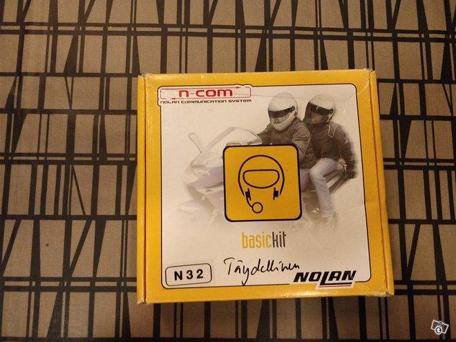 Nolan N-Comm N32 Kypärän kuulokesarja