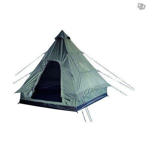 Mil-tec neljän hengen tiipii-pyramidi teltta