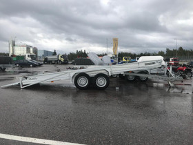 Jarrullinen autonkuljetusperäkärry kipillä 3500kg, Peräkärryt ja trailerit, Auton varaosat ja tarvikkeet, Tampere, Tori.fi