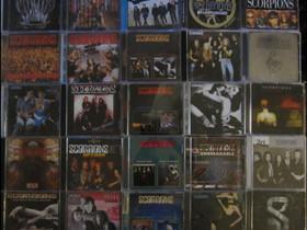 Kymmeniä erilaisia SCORPIONS Cd:eitä osa 2, Musiikki CD, DVD ja äänitteet, Musiikki ja soittimet, Kouvola, Tori.fi