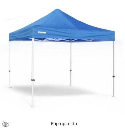 Pop-up teltta PRO (Monta kokoa)