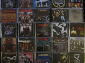 Kymmeniä erilaisia SCORPIONS Cd:eitä osa 1, Musiikki CD, DVD ja äänitteet, Musiikki ja soittimet, Kouvola, Tori.fi