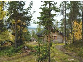Inarijärven rannalla hyvinvarusteltu hirsimökki, Mökit ja loma-asunnot, Inari, Tori.fi
