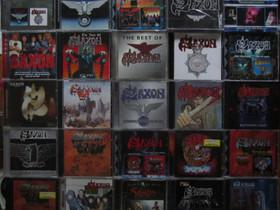 Kymmeniä erilaisia SAXON yhtyeen cd:eitä, Musiikki CD, DVD ja äänitteet, Musiikki ja soittimet, Kouvola, Tori.fi
