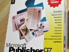 Microsoft Publisher 97 PC-ohjelmisto, Tietokoneohjelmat, Tietokoneet ja lisälaitteet, Kangasala, Tori.fi