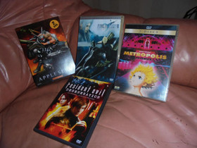 4 x DVD Metropolis, ym, Elokuvat, Kotka, Tori.fi