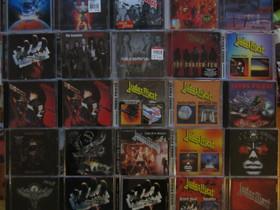 Paljon erilaisia JUDAS PRIEST cd:eitä, Musiikki CD, DVD ja äänitteet, Musiikki ja soittimet, Kouvola, Tori.fi