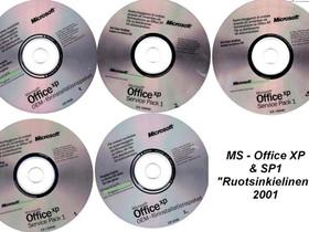 MS-Office XP opas & SP1 päivitys -SWE-, Tietokoneohjelmat, Tietokoneet ja lisälaitteet, Valkeakoski, Tori.fi
