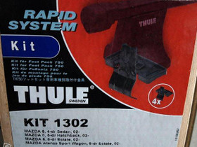 Thule KIT 141302, Mazda 6, vm. 2002-2007, Kattotelineet ja boksit, Auton varaosat ja tarvikkeet, Kangasala, Tori.fi