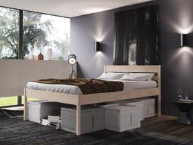 Puusänky koivu, 120x200cm korkeus 55cm, Sängyt ja makuuhuone, Sisustus ja huonekalut, Espoo, Tori.fi