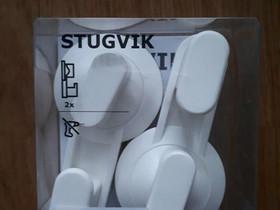 IKEA Stugvik imukuppikoukut 2 kpl, Kylpyhuoneet, WC:t ja saunat, Rakennustarvikkeet ja työkalut, Kotka, Tori.fi