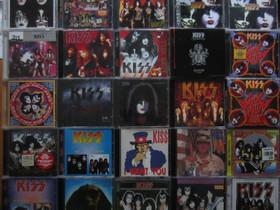 Paljon erilaisia KISS yhtyeen cd:eitä, Musiikki CD, DVD ja äänitteet, Musiikki ja soittimet, Kouvola, Tori.fi