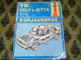 VW Golf Jetta korjauskirja, Muut kirjat ja lehdet, Kirjat ja lehdet, Lahti, Tori.fi