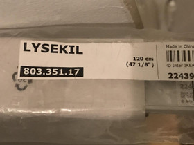 2 kpl Lysekil seinälevyn kiinnityslistaa alumiini, Muu rakentaminen ja remontointi, Rakennustarvikkeet ja työkalut, Helsinki, Tori.fi
