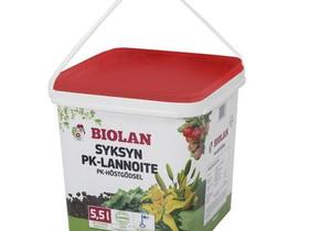 Syksyn pk-lannoite biolan 5,5 l pakki, Muu piha ja puutarha, Piha ja puutarha, Sonkajärvi, Tori.fi