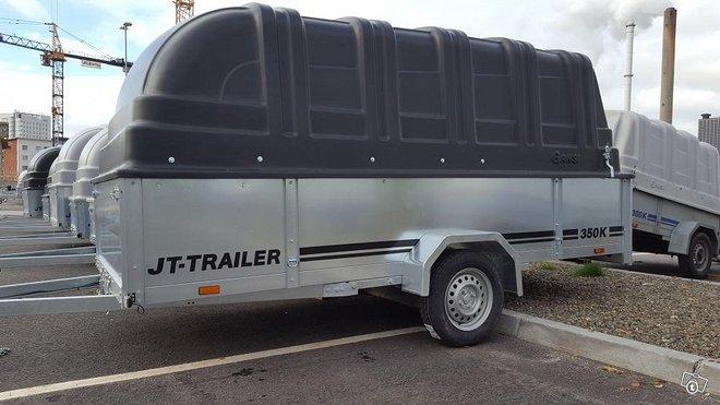 JT-Trailer 350×150×50 kuomullinen peräkärry