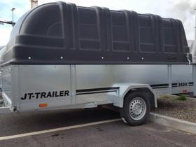 JT-Trailer 350×150×50 kuomullinen peräkärry, Peräkärryt ja trailerit, Auton varaosat ja tarvikkeet, Oulu, Tori.fi