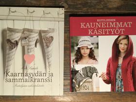 Käsityökirjat 2 erilaista, Käsityöt, Hausjärvi, Tori.fi