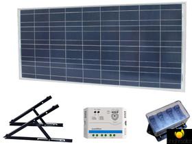 Brightsolar 160W aurinkopaneelisetti mökille, Muu rakentaminen ja remontointi, Rakennustarvikkeet ja työkalut, Harjavalta, Tori.fi