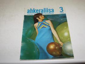 AHKERALIISA Nro 3 v. 1967, Lehdet, Kirjat ja lehdet, Merikarvia, Tori.fi