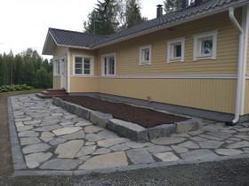 Tummaa liuskekiveä pihaan, Ruukut, kivet ja koristeet, Piha ja puutarha, Kuopio, Tori.fi
