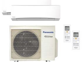 Panasonic-ilmalämpöpumppu, 2 sisäyksikköä, Lämmityslaitteet ja takat, Rakennustarvikkeet ja työkalut, Joensuu, Tori.fi