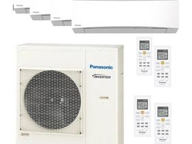 Panasonic-ilmalämpöpumppu, 4 sisäyksikköä, Lämmityslaitteet ja takat, Rakennustarvikkeet ja työkalut, Imatra, Tori.fi