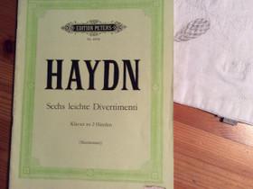 Haydn nuottivihko pianolle, Muu musiikki ja soittimet, Musiikki ja soittimet, Kouvola, Tori.fi
