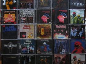 Paljon erilaisia BLACK SABBATH yhtyeen cd:eitä, Musiikki CD, DVD ja äänitteet, Musiikki ja soittimet, Kouvola, Tori.fi