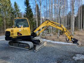 Kaivinkone hyundai 5,7t kallistajalla, tyvitaitto, Maanrakennuskoneet, Työkoneet ja kalusto, Iisalmi, Tori.fi