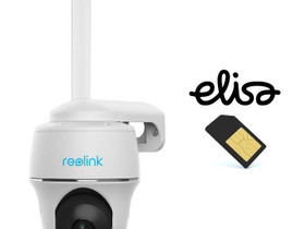 Reolink Go PT+SIM akkukäyttöinen 4G kamera ulkokäy, Muu viihde-elektroniikka, Viihde-elektroniikka, Harjavalta, Tori.fi
