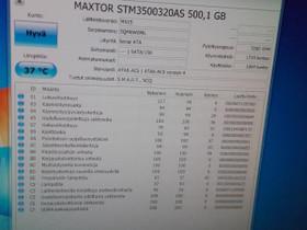 """Maxtor 500 GT levy vähän käytetty 3,5"""" SATA, Komponentit, Tietokoneet ja lisälaitteet, Oulu, Tori.fi"""
