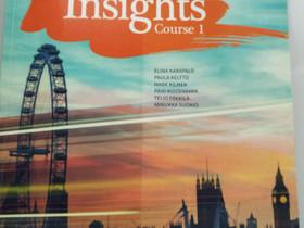 Insights course 1 , Oppikirjat, Kirjat ja lehdet, Tuusula, Tori.fi
