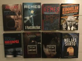 Kirjat Remes,Joensuu,Jokinen,ym, Kaunokirjallisuus, Kirjat ja lehdet, Kokkola, Tori.fi
