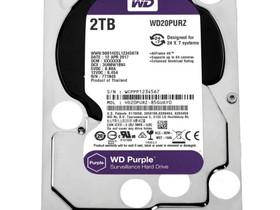 WD Purple 2TB 3.5 SATAIII kovalevy, Muu viihde-elektroniikka, Viihde-elektroniikka, Harjavalta, Tori.fi