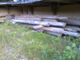 Pyöreäå vanhaa hirttä, Muu rakentaminen ja remontointi, Rakennustarvikkeet ja työkalut, Ulvila, Tori.fi