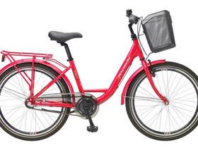 Madison 24' milano nexus 3 punainen pearl 2021, Muut pyörät, Polkupyörät ja pyöräily, Harjavalta, Tori.fi