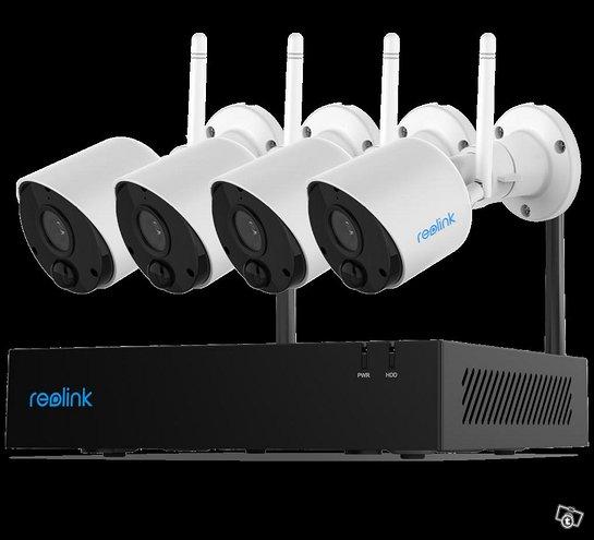 Reolink RLK4-211WB4 FullHD WiFi valvontajärjestelm