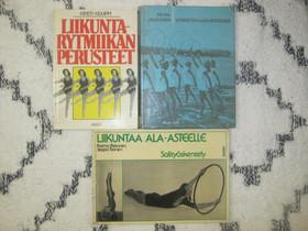 Kolme voimisteluaiheista kirjaa, Imatra/posti, Harrastekirjat, Kirjat ja lehdet, Imatra, Tori.fi