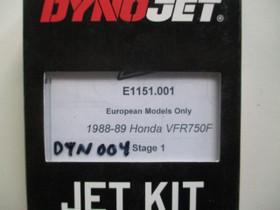Dynojet suutinsarja Honda VFR750 88-89, Moottoripyörän varaosat ja tarvikkeet, Mototarvikkeet ja varaosat, Helsinki, Tori.fi