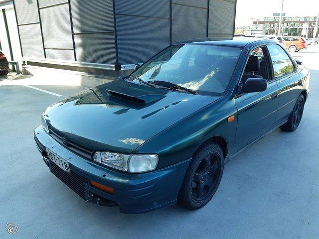 Subaru Impreza Turbo 4Wd vm. 1996
