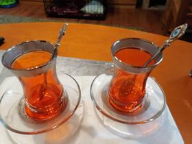 Turkkilaiset teekupit, Kahvikupit, mukit ja lasit, Keittiötarvikkeet ja astiat, Pori, Tori.fi
