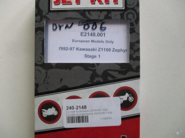 Dynojet suutinsarja Kawasaki ZEPHYR 1100