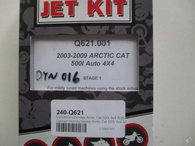Dynojet suutinsarja Arctic Cat 500i 4x4