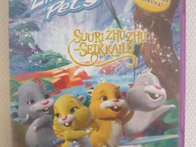 Suuri Zhuzhu-seikkailu dvd, Imatra/posti, Elokuvat, Imatra, Tori.fi