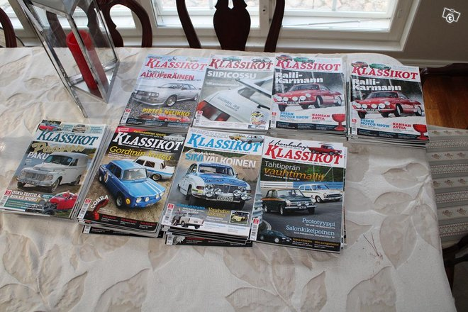 Klassikot lehtiä