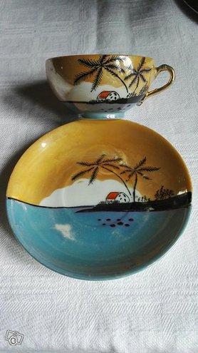 Japanilainen antiikki kuppi