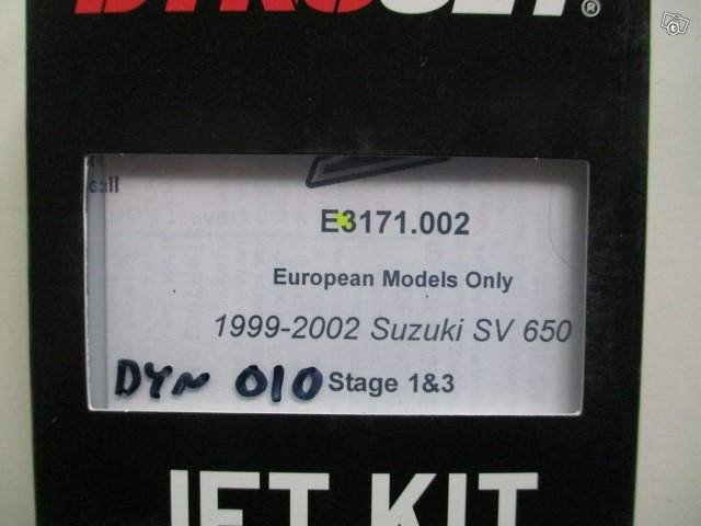 Dynojet suutinsarja Suzuki SV650