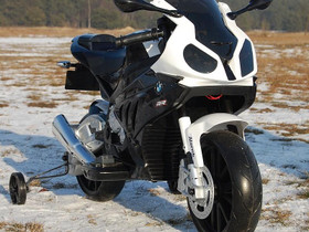 BMW S1000RR lasten moottoripyörä musta, Muut motot, Moto, Tuusula, Tori.fi